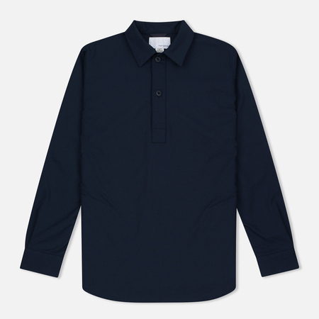 Мужская рубашка Nanamica Military Pullover Navy