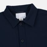 Мужская рубашка Nanamica Military Pullover Navy фото- 1
