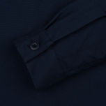 Мужская рубашка Nanamica Military Pullover Navy фото- 2