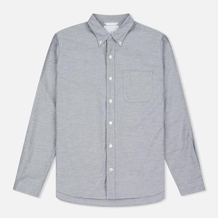 Nanamica Wind Button Down Men's Shirt Heather Grey