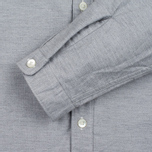 Мужская рубашка Nanamica Wind Button Down Heather Grey фото- 3