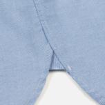 Мужская рубашка Nanamica Wind Button Down Pocket Whale Sax фото- 5