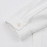 Мужская рубашка Nanamica Wind Button Down Pocket Whale White фото- 3