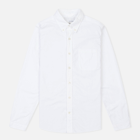 Мужская рубашка Nanamica Wind Button Down White