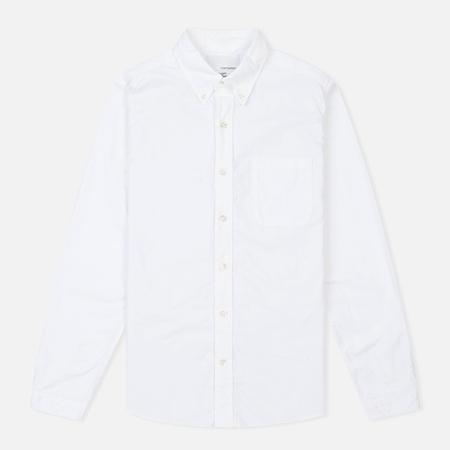 Nanamica Wind Button Down Men's Shirt White