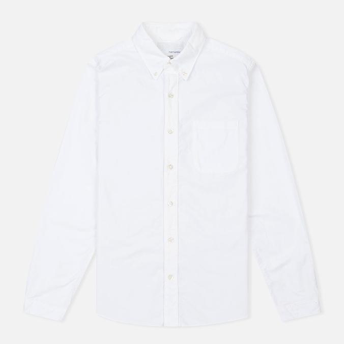 Мужская рубашка Nanamica Wind Button Down White