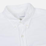 Мужская рубашка Nanamica Wind Button Down White фото- 1