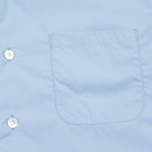 Мужская рубашка Nanamica Wind Regular Collar Sax фото- 2