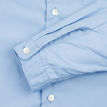 Мужская рубашка Nanamica Wind Regular Collar Sax фото- 3