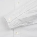 Nanamica Wind Regular Collar Men's Shirt White photo- 3