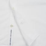 Nanamica Wind Regular Collar Men's Shirt White photo- 4