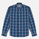 Мужская рубашка Napapijri Guji Check Blue фото- 0