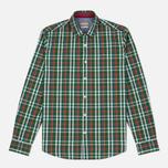 Мужская рубашка Napapijri Guji Check Green фото- 0