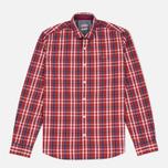 Мужская рубашка Napapijri Guji Check Red фото- 0