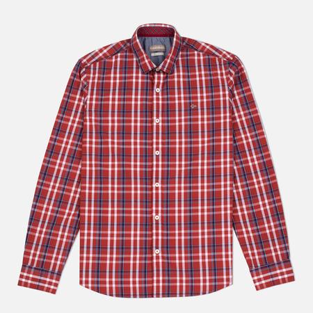 Napapijri Guji Check Men's Shirt Red