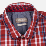 Мужская рубашка Napapijri Guji Check Red фото- 1