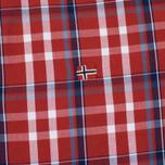 Мужская рубашка Napapijri Guji Check Red фото- 3