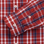 Мужская рубашка Napapijri Guji Check Red фото- 4