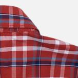 Мужская рубашка Napapijri Guji Check Red фото- 2