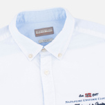 Мужская рубашка Napapijri Gysele Bright White фото- 1