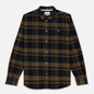 Мужская рубашка Norse Projects Anton Brushed Flannel Check Ivy Green фото - 0