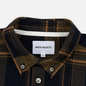 Мужская рубашка Norse Projects Anton Brushed Flannel Check Ivy Green фото - 1