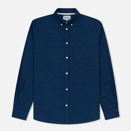 Мужская рубашка Norse Projects Anton Chambray Boundary Blue