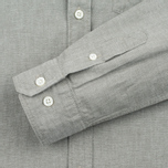 Мужская рубашка Norse Projects Anton Chambray Dryed Olive фото- 4