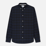 Мужская рубашка Norse Projects Anton Check Charcoal фото- 0