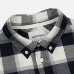 Мужская рубашка Norse Projects Anton Check Light Grey Melange фото- 1