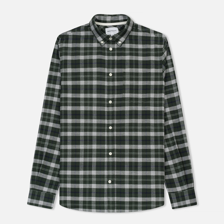 Мужская рубашка Norse Projects Anton Check Moss