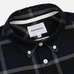 Мужская рубашка Norse Projects Anton Check Navy/Charcoal фото- 1
