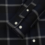 Мужская рубашка Norse Projects Anton Check Navy/Charcoal фото- 3