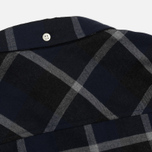 Мужская рубашка Norse Projects Anton Check Navy/Charcoal фото- 5