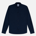 Мужская рубашка Norse Projects Anton Light Oxford LS Dark Navy фото- 0