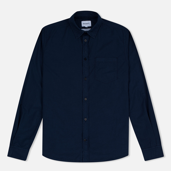 Мужская рубашка Norse Projects Anton Light Oxford LS Dark Navy