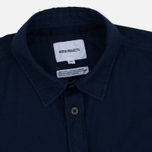 Мужская рубашка Norse Projects Anton Light Oxford LS Dark Navy фото- 1
