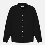 Norse Projects Anton Oxford Men's Shirt Black photo- 0