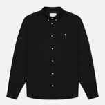 Мужская рубашка Norse Projects Anton Oxford Black фото- 0