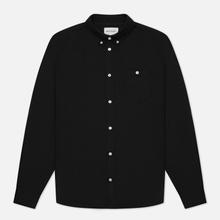 Мужская рубашка Norse Projects Anton Oxford Black фото- 0