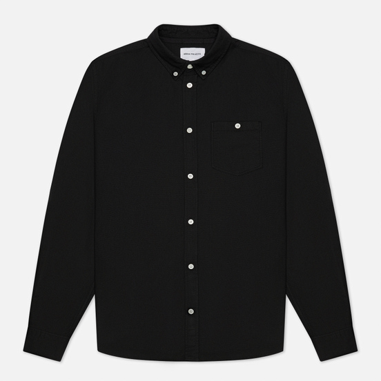 Мужская рубашка Norse Projects Anton Oxford Black