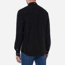 Мужская рубашка Norse Projects Anton Oxford Black фото- 3