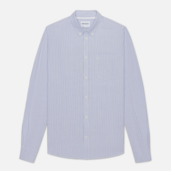 Мужская рубашка Norse Projects Anton Oxford Blue Stripe