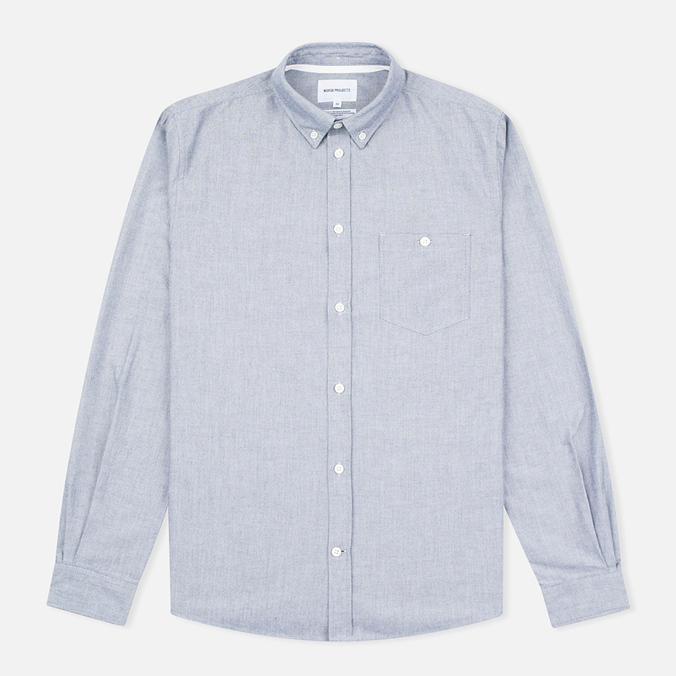 Мужская рубашка Norse Projects Anton Oxford Grey