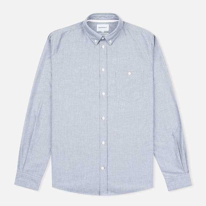 Norse Projects Anton Oxford Men's Shirt Grey