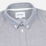 Norse Projects Anton Oxford Men's Shirt Grey photo- 1