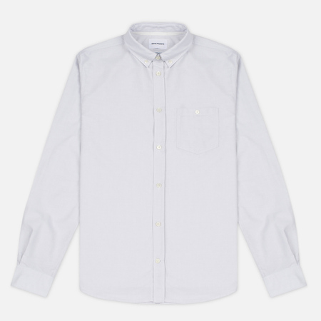 Мужская рубашка Norse Projects Anton Oxford Light Grey Stripe