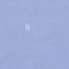 Мужская рубашка Norse Projects Anton Oxford Logo Pale Blue фото- 2
