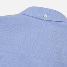 Мужская рубашка Norse Projects Anton Oxford Logo Pale Blue фото- 4