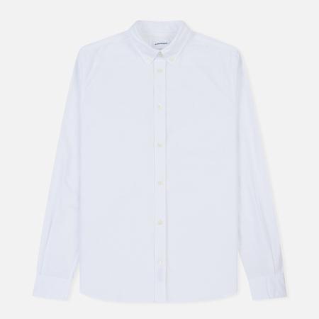 Мужская рубашка Norse Projects Anton Oxford Logo White